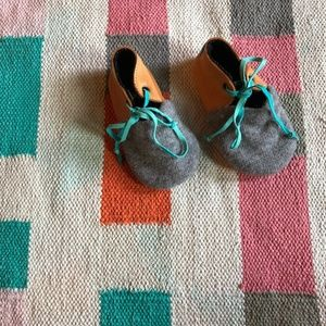 Handmade upcycled baby shoes Etsy US toddler 6